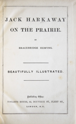 Jack Harkaway on the Prairie