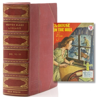 Sexton Blake Library No. 91-99 (New Series). Including The House on the Hill by John Drummond;...