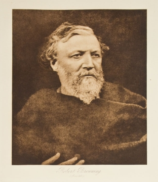 Robert Browning. Julia Margaret Cameron.