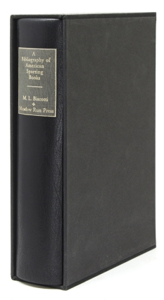 A Bibliography of American Sporting Books, 1926-1985. Foreword by Gene Hill. Meadow Run Press, M....