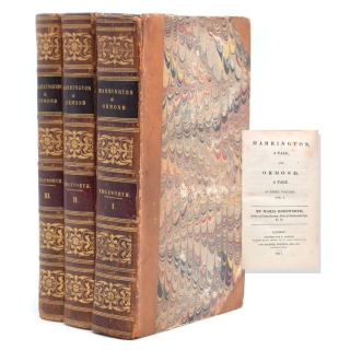 Harrington, a Tale; and Ormond, a Tale. In Three Volumes. Maria Edgeworth.