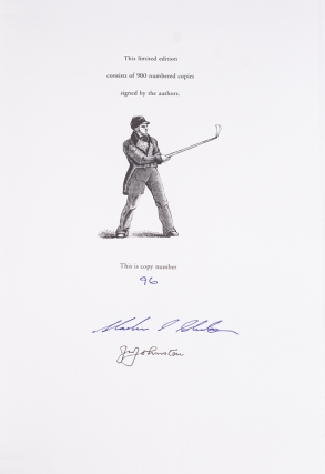 The Chronicles of Golf: 1457 to 1857