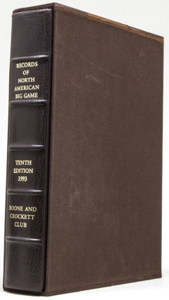 Records of North American Big Game. Tenth edition. Boone and Crockett Club, Jack and Susan Reneau.