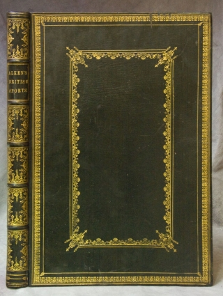 The National Sports of Great Britain, with Descriptions in English and French ... Chasse et...