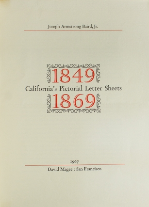 California's Pictorial Letter Sheets 1849-1869