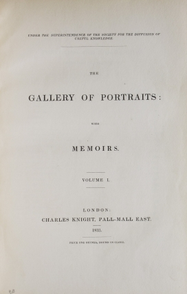 The Gallery of Portraits; with Memoirs