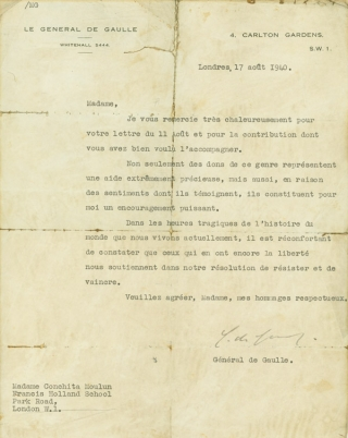 "Typed Letter, signed (""J.H. Doolittle""), to U.S. Congressman James M. Mead, explaining his..."