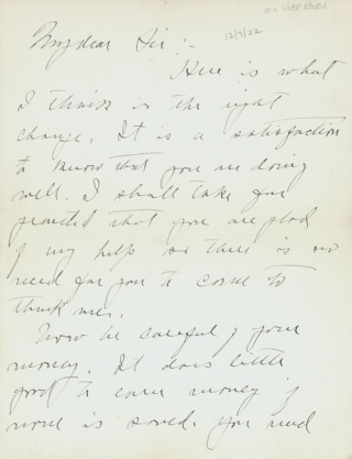 "Autograph Letter, signed (""Calvin Coolidge""), to Mr. D.M. Stoner. Calvin Coolidge."