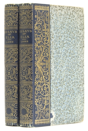 Essays of Elia. Charles Lamb