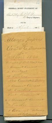 Archive of partly-printed documents, most signed by Barnard, relating to Corps of Engineer...