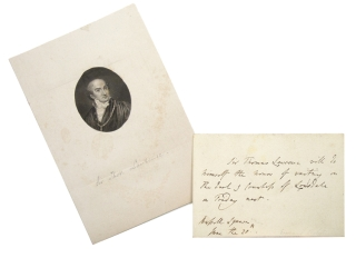 Autograph Notes, Signed. Thomas Lawrence, Sir