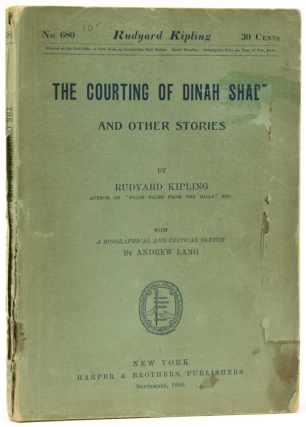 The Courting of Dinah Shadd and Other Stories … with a Biographical and Critical Sketch by...