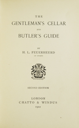 The Gentleman's Cellar and Butler's Guide