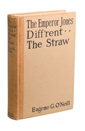 "The Emperor Jones; Diff'rent; The Straw. [With:] Typed Letter, signed (""Gene"")..."