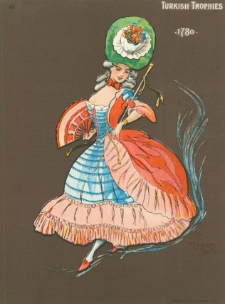 Cards for Turkish Trophies . Complete set of 25 costumes dated 1700-1903,