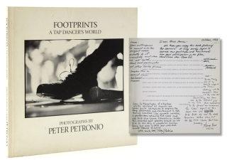 Footprints. A Tap Dancer's World. [A Portfolio of Sixty-five Photographs]. Lena Horne, Peter...