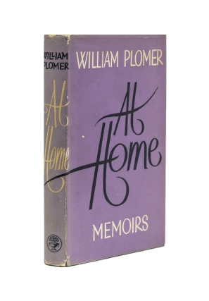 All Home. Memoirs. William Plomer.