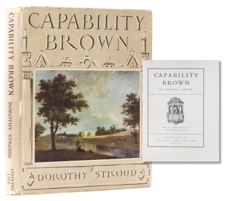 Capability Brown. With an Introduction by Christopher Hussey. Capability Brown, Dorothy Stroud