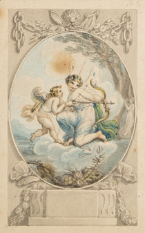Bound album of 34 drawings (20 by Corbould, 14 by Uwins)
