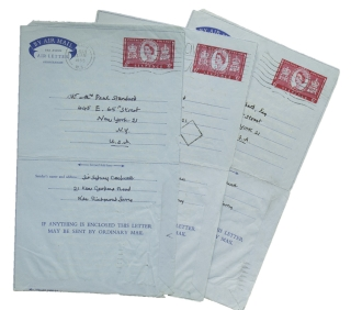 "3 Autograph Letters, signed (""Sydney Cockerell""), to Stella and Paul Standard. Sir Sydney Carlyle Cockerell."