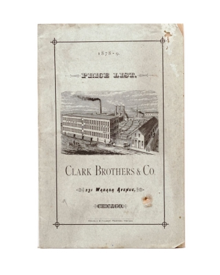 Clark Brothers & Co. 1878-79 Price List. Furniture