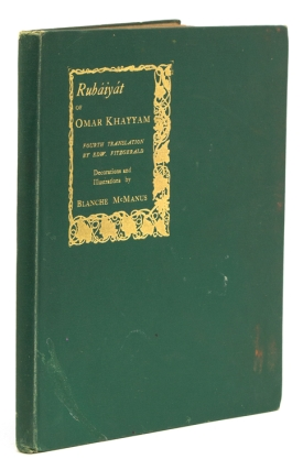 Rubáiyat of Omar Khayyám. Being a Reprint of Edward FitzGerald's 4th English Translation. Omar...