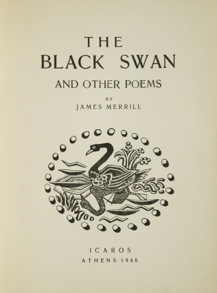 The Black Swan and Other Poems
