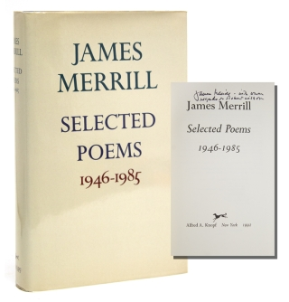 Selected Poems 1946-1985. James Merrill