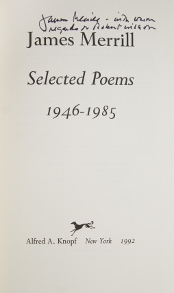 Selected Poems 1946-1985