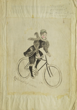 """The Bicyclers. A Farce"" produced as ""Curtain Raiser at the Knapp Mansion, Feb. 24, 1894"" John..."