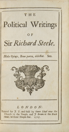The Political Writings …. Steele.