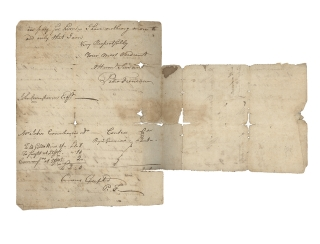 "Autograph Letter, Signed, ""Peter Freneau,"" to John Covenhoven of Freehold, New Jersey, written during the Revolutionary War period"