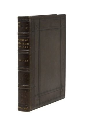 A Book of Roxburghe Ballads. John Payne Collier, Esq