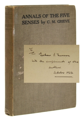 Annals of the Five Senses. C. M. Grieve