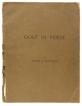 Golf. Poetical Putts. [Mock-up of Unpublished Book]. [With:] [Archive of Golf Poetry and related materials]