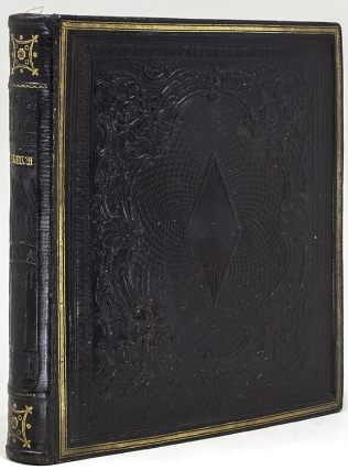 Commonplace book, album of poetry, prints and watercolors compiled by Mrs. Priscilla Vickers of...