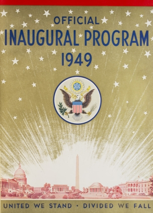 Official Program Commemorating the Inauguration of Harry Truman...and Alben W. Barkley, January 20, 1949