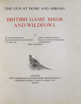 The Gun at Home and Abroad. British Game Birds and Wildfowl (Vol. I). British Deer and Ground Game, Dogs, Guns, and Rifles (Vol. II). The Big Game of Africa and Europe (Vol. III). The Big Game of Asia and North America (Vol. IV)