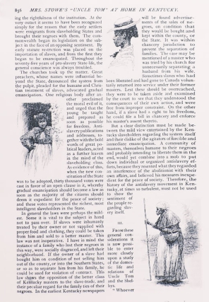 """Pen and Ink Drawing: 4 vignette scenes of black women for """"Mrs. Stowe's Uncle Tom at home in Kentucky"""" by James Lane Allen as it appeared in The Century Oct. 1887"""