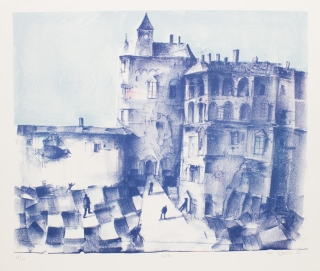 Lithographs (3). Piotr Fafrowicz