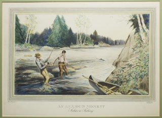 """An Anxious Moment - Salmon Fishing"" Ralph Boyer."