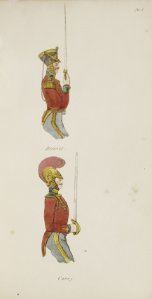 Instructions for the Sword Exercise; Selected from Her Majesty's Rules and Regulations, and Approved of by Authority, for the Yeomanry Cavalry