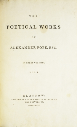 The Poetical Works …