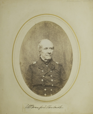 Photograph, Signed on mounted slip below image. Naval, William Branford Shubrick.