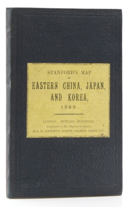 Map of Eastern China, Japan & Korea, 1898