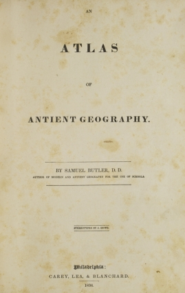 An Atlas of Antient Geography