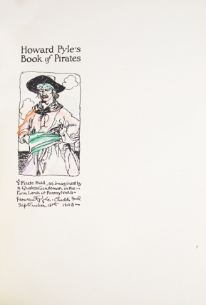 Howard Pyle's Book of Pirates. Compiled by Merle Johnson