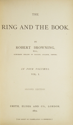 The Ring and the Book
