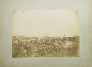 Eight albumen photographs of Polynesia