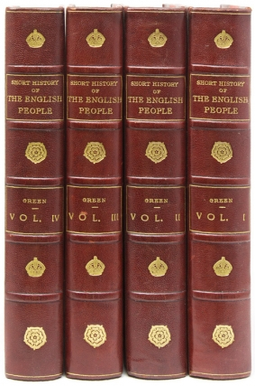 A Short History of the English People. J.ohn R.ichard Green.